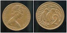 NOUVELLE ZELANDE 2 cents  1973