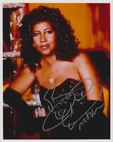 ARETHA FRANKLIN AUTOGRAPHED 8X10 COLOR PHOTO REPRINT (FREE SHIPPING) *