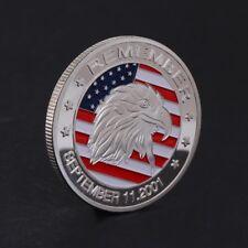 911 Eagle Head September 11 2001 Commemorative Art Coin Collection Souvenir Gift