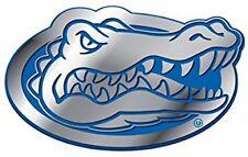 Florida Gators PREMIUM Heavy Duty COLOR METAL Auto Emblem Decal PR University of