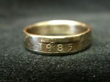 Handmade US coin ring - 1985, size R (US 8 1/2), (R1567)