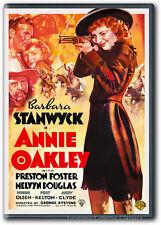 Annie Oakley DVD New Barbara Stanwyck Preston Foster Melvyn Douglas 1935