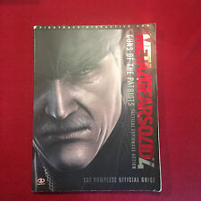 Metal Gear Solid 4 Guns of the Patriote Piggyback Official Strategy Game