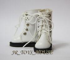 White Martin Boots D26 fits Pullip blythe barbie momoko