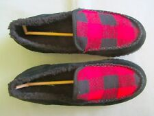 Mens 10.5 Sorel Dude Moc Moccasin Loafers Leather Slippers Slip On Shoes 10 1/2