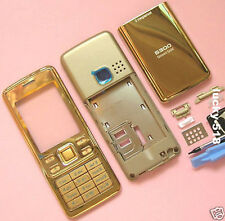 COMPATIBLE HOUSING BATTERY BACK COVER SCREEN FOR NOKIA 6300 Gold