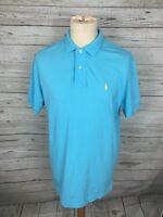 Men's Ralph Lauren Polo Shirt - Size Medium - Turquoise - Great Condition