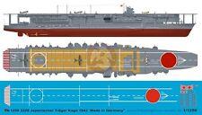 Peddinghaus 1/1250 HIJMS Kaga Japanese Aircraft Carrier Markings 1942 WWII 3229