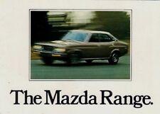 Mazda 1977-78 UK Market Foldout Sales Brochure 323 818 616 929 B1800