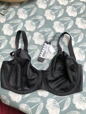 NWT FANTASIE SMOOTHING MOULDED BALCONY BRA IN BLACK SIZE 34F  4520 REDUCED