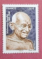 Timbre 5346 , Mahatmat Gandhi année  2019