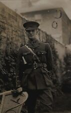 WW1 Officer ASC Army Service Corps Southampton photographer