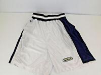 VTG TOMMY HILFIGER Men's Shorts Elastic Band White Green Black sz Medium Nylon