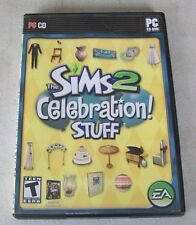 THE SIMS 2  CELEBRATION STUFF PACK PC VIDEO GAME