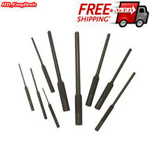 Steel Roll Pin Punch Set 9 pc Tools Forged Grip New Piece Pouch Hammer Gun AR15