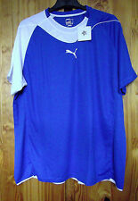 Puma Size XXL Power Cat Handball 5.10 Shirt Blue/White