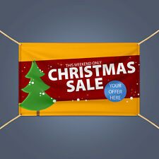 CHRISTMAS SALE Holiday Season Retail Shop Sale Advertising Vinyl Banner Sign