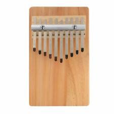 10 Keys Solid Wood Kalimba Thumb Piano Traditional Musical Instrument Th1272