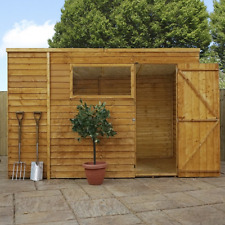 Mercia 10x6 Overlap Pent Shed