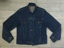MENS GENUINE LEVI'S DENIM CLASSIC TRUCKER JACKET, SIZE XL