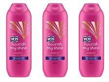 3 x 250ml VO5 Nourish My Shine Shampoo - Rehab & Shine for Damaged Hair