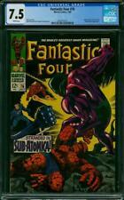 Fantastic Four #76 CGC 7.5 -- 1968 -- Galactus Silver Surfer Psycho #2001875012