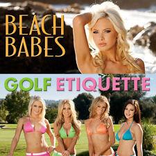 NEW - ComboPack - 2 Different 2012 Calendars - Bikinis & Golf