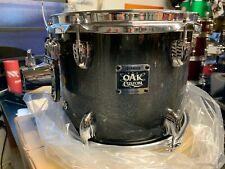 Yamaha 10x9 Oak Custom Tom In Black Sparkle Burst