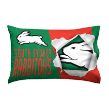South Sydney Rabbitohs 2018 NRL Quilt Cover Pillowcase All Sizes Available