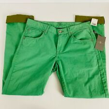 7 For All Mankind Mens 'The Straight' Jean Green Unique BNWT RRP $189 Size 30