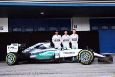 1/10 2016 F1 Mercedes Benz W07 Hamilton RC car Body Decal Wings for Tamiya F104