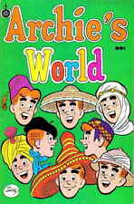 ARCHIE'S WORLD VG, Jughead Veronica & Betty app., Spire Christian Comics 1973