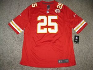 Jamaal Charles Kansas City Chiefs Mens XL Red Nike Game Jersey