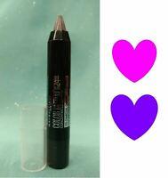 MAYBELLINE Color Tattoo Crayon Eyeshadow & Eyeliner CHARCOAL CHROME Gray Full Sz