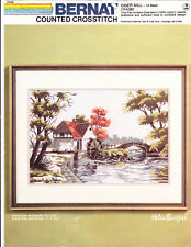 Counted Cross Stitch Kit:  Cider Mill, Helen Burgess 16 x 20