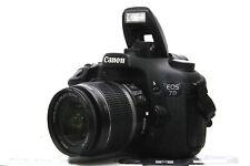 Canon EOS 7D 18 MP FULL HD DSLR mit EF-S 18-55mm IS Objektiv + OVP