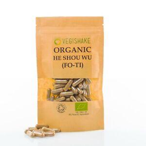Organic He Shou Wu (Fo Ti) Capsule HPMC Maintain Hair Colour Prevent Grey Hairs