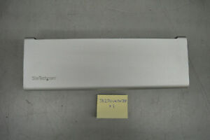 StarTech Thunderbolt 2 Laptop MacBook 4k Docking Station TB2DOCK4K2DP w/ Power