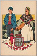 España - POSTAL ANTIGUA - SPAIN vintage postcard - GALICIA : Pontevedra TRAJES