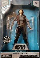 "Disney Store Star Wars Sergeant Jyn Erso Elite Series Premium 10"" Action Figure"