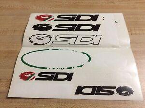 SIDI bike sticker decal MTB road race bicycle ride