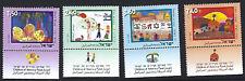 Israel: 2006 Niños Arte competencia Set SG1769-72 Estampillada sin montar