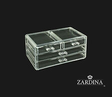 Clear Acrylic Make Up Organiser Storage Box (A1)