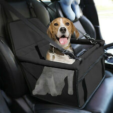 Collapsible Pet Dog Booster Car Seat Cat Car Carrier W/ Zipper Storage Pocket Us