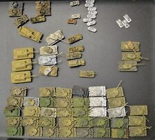 Huge GHQ 6MM Flames of War German Late War Army Lot Nicely Painted Tiger Maus