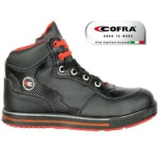 NEW COFRA LIGHTWEIGHT ALLOY TOE CAP WORK SAFETY HIKER LEATHER SNEAKER BOOTS SZ