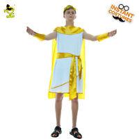 Adult Men Classical Grecian Toga Egyptian Greek Roman Costume Cosplay Costumes