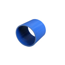 """CXR 2.5"""" Blue Silicon Hose Coupler Straight  3"""" Long for Turbo Intercooler Pipe"""