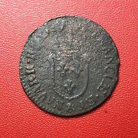 #1490 - RARE - Louis XV Demi sol d'Aix millésime à identifier - FACTURE