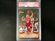 2009 Panini STEPHEN CURRY Rookie RC Card #372 PSA 10 Golden State Warriors MVP